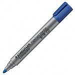 Маркер для флипчарта Staedtler Lumocolor, 2мм, круглый наконечник, синий