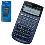 Калькулятор инженерный Citizen SR-281N синий, 12+2 разрядов