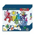 Игра обучающая Десятое Королевство пазлы Алфавит, 10 карточек х 5 элементов