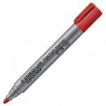 Маркер для флипчарта Staedtler Lumocolor, 2мм, круглый наконечник, красный