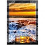 Блокнот Hatber Прекрасный закат, А4, 80 листов, в клетку, на сшивке, ламинированный картон, твердый переплет