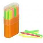 Счетные палочки Стамм 50шт, многоцветные, в пенале