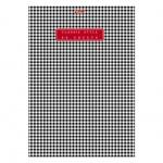 Блокнот Hatber Classic Style, А5, 80 листов, в клетку, на скрепке, мелованный картон