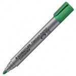 Маркер для флипчарта Staedtler Lumocolor, 2мм, круглый наконечник, зеленый