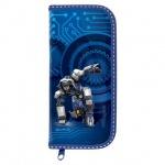 Пенал для мальчиков Brauberg Робот, каркасный, 1 отделение