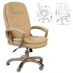 Кресло руководителя Бюрократ CH-868AXSN, крестовина пластик, черное,  искусственная кожа