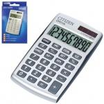 Калькулятор карманный Citizen CPC-110WB серебристый, 10 разрядов