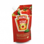 Кетчуп Heinz острый, 250г, пакет