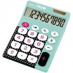 Калькулятор настольный Milan голубой, 10 разрядов