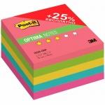 Блок для записей с клейким краем Post-It Optima, 76х76мм, 500 листов
