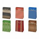 Пакет подарочный, 23х32х11см, Дворянский стиль, 6 мотивов