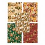 Бумага упаковочная Pol-Mak Праздничные шары, 99.5х68.5см, ассорти