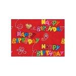 Бумага упаковочная Susy Card Birthday, 2х0.7м