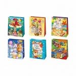Пакет подарочный Pol-Mak Детский праздник, 19х23х10.5см, ассорти