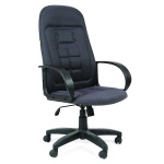 Кресло руководителя Chairman 727, крестовина пластик, серый 10-128