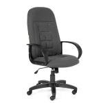 Кресло руководителя Chairman 727, крестовина пластик, серый 15-13