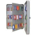 Шкафчик для ключей Shuh Ru KB-70 на 70 ключей, серебристый, 300х230х90мм