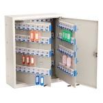 Шкафчик для ключей Shuh Ru KBP-160 на 160 ключей, серебристый, 400х320х120мм