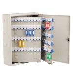 Шкафчик для ключей Shuh Ru KBP-240 на 240 ключей, серебристый, 480х380х120мм