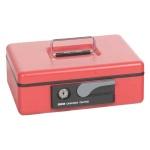 Кэшбокс Shuh Ru СВ-9705N 8х15.5х23см, ключевой замок. красный