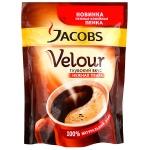 Кофе растворимый Jacobs Monarch Velour, пакет, 140г