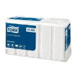 Салфетки сервировочные Tork Universal белые, 33х33см, 1 слой, 500шт, 10300