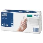 Бумажные полотенца Tork Universal H3, 471111, листовые, 120шт, 2 слоя, белые