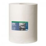 Протирочный материал Tork нетканый W1/W2/W3, 510137, в рулоне, универсальный, 152м, 1 слой, белый