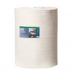 Протирочный материал Tork нетканый W1/W2/W3, 905370, в рулоне, интенсивная очистка, 114м, 1 слой, белый