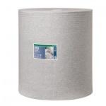 Протирочный материал Tork нетканый W1, 520304, в рулоне, для масла и жира, 361м, 1 слой, серый