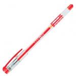 Ручка гелевая Erich Krause G-Point, 0.38мм, красная