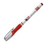 Ручка гелевая Erich Krause Robogel, 0.5мм, красная