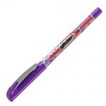 Ручка шариковая Erich Krause Ultra Glide plus Max Glider, 1мм, фиолетовая