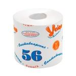 Туалетная бумага Veiro Сыктывкарская 56 без аромата, белая, 1 слой, 39м