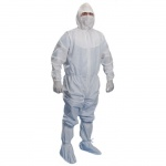 Комбинезон для чистых помещений Kimberly-Clark Kimtech Pure A5, белый, XXXL