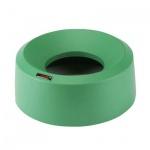 Крышка для контейнера Vileda Pro Ирис 50л, воронкообразная, круглая, зеленый
