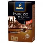 Кофе молотый Tchibo Espresso Milano Style 250г, пачка