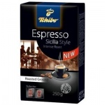 Кофе молотый Tchibo Espresso Sicilia Style 250г, пачка