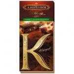 Шоколад Коркунов горький шоколад с цельным фундуком, 90г
