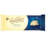 Шоколад Fazer белый, молочный шоколад, 100г