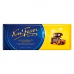 Шоколад Fazer апельсин, темный шоколад, 200г