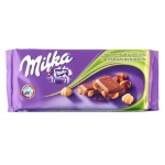 Шоколад Milka молочный лесной орех, 100г