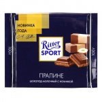 Шоколад Ritter Sport, пралине, молочный