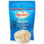 Творог рассыпчатый President 0.2%, 200г