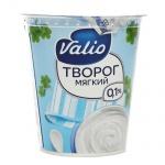 Творог мягкий Valio 0.1%, обезжиренный, 340г