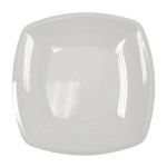 Тарелка одноразовая Horeca белая, глубокая, 18х18см, 6шт/уп