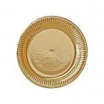 Тарелка одноразовая Bibo Gold Голд 19см, 10шт/уп