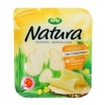 Сыр в нарезке Arla Natura 45% сливочный, 300г