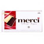 Шоколад Merci ореховый крем, 112г