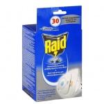 Средство от насекомых Raid на 30 ночей, электрофумигатор + таблетки, от комаров и мух